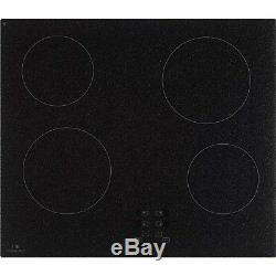 New World NWTC601 Touch Control 60cm Ceramic Hob Black Granite Effec 444441162