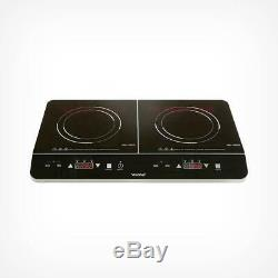 Portable Electric 2 Double Ring Digital Table Top Ceramic Induction Hob Cooker