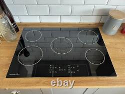RangeMaster RMB75HPECGL 75cm 5 Zone Black Glass Ceramic Hob