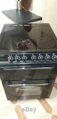 Rangemaster 10733 Classic 60cm Electric Cooker with Double Oven and Ceramic Hob