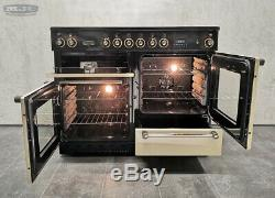 Rangemaster 110 110cm All Electric Ceramic hob RANGE COOKER Cream & Gold (x80)