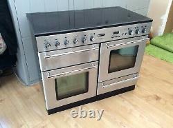 Rangemaster 110 electric Toledo double oven silver Ceramic 6 Hob see description