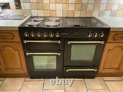 Rangemaster 110 electric with ceramic hob (4) griddle & warming plate