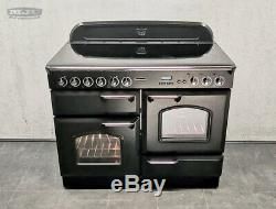 Rangemaster Classic 110cm All Electric Ceramic hob RANGE COOKER Black CHR (x55)