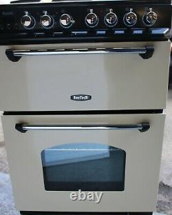 Rangemaster Classic 60 CLAS60ECCR/C 60cm Electric Cooker Ceramic Hob Cream