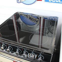 Rangemaster Classic 60 CLAS60ECCR/C 60cm Electric Cooker Ceramic Hob Cream A/B