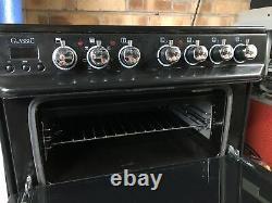 Rangemaster Classic 60 CLAS60ECCR/C 60cm Electric Cooker Ceramic Hob Cream/Chrom