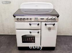 Rangemaster Classic 90 90cm Electric Ceramic Hob RANGE COOKER All White (1M18)