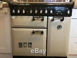 Rangemaster Elan 90 Ceramic Induction Hob Electric, cream colour
