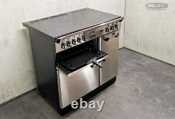 Rangemaster Professional 90 All Electric Ceramic Hob RANGE COOKER S/S (1u21)