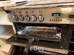 Rangemaster Professional 90cm All Electric Ceramic Hob RANGE COOKER S/S