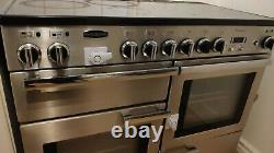 Rangemaster Professional Plus 110 Ceramic Electric Hob Oven Full Functioning