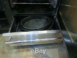 Rangemaster Toledo Ceramic hob 110 Stainless Steel Range Cooker oven