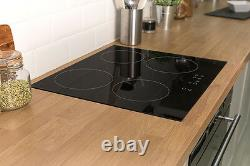 Russell Hobbs 4 Zone Glass Induction Electric Hob, RH60IH401B