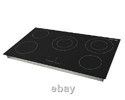 Russell Hobbs 5 Zone Black Glass Electric Hob RH90EH7001 Grade A+