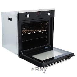 SIA 60cm Touch Control Electric Oven, Ceramic Hob and 60cm Cooker Hood Extractor