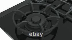 SIEMENS ER9A6SD70- 90cm Built-in Black Ceramic Glass Kitchen Gas Hob