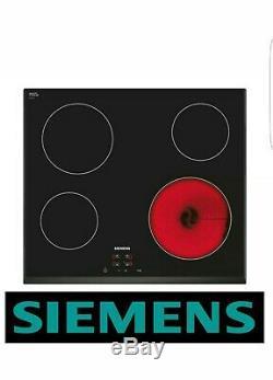 SIEMENS ET651HE17E Built-in Black Frameless Electric Ceramic Kitchen Cooker Hob
