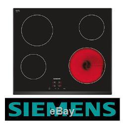 SIEMENS ET651HE17E Built-in Black Frameless Electric Ceramic Kitchen Hob New