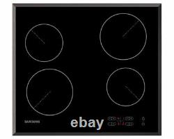 Samsung C61R1AAMST Ceramic Electric Hob with Stainless Steel TrimFree Delivery