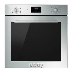 Smeg Built-in SE264TD Ceramic Hob and SF6400TVX Electric Oven