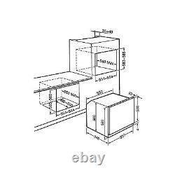Smeg CCELEPK Cucina Multifunction Oven & Ceramic Hob Pack