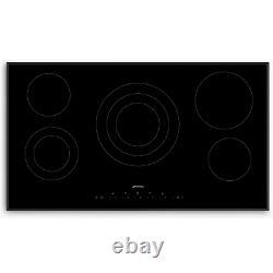 Smeg SE395ETB 90cm Touch Control Ceramic Hob Black With Angled Edges
