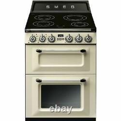 Smeg TR62IP Victoria Free Standing A/A Electric Cooker with Induction Hob 60cm