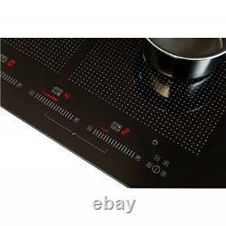 Stoves 90 Cm 6 Zone Touch Control Flex-induction Glass Hob Black- EXCELLENT COND