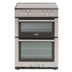 Stoves SEC60DO 60cm Electric Cooker, Double Ovens, Grill, Ceramic Hob
