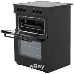 Stoves SEC60DO Free Standing Electric Cooker with Ceramic Hob 60cm Black New
