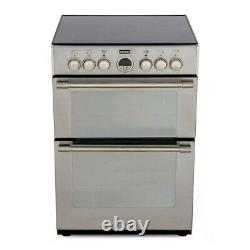 Stoves Sterling 600E 60cm Electric Cooker Double Ovens, Grill and Ceramic Hob