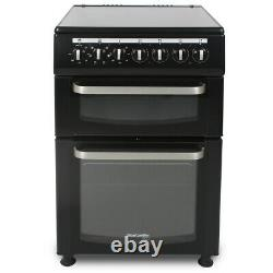 TCC60BK 600mm Twin Cavity Electric Oven & Grill Ceramic Hob