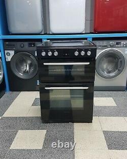 Wd4612 black kenwood 60cm double oven ceramic hob electric cooker KDC606B19