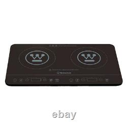 Westinghouse 2400W Electric Dual/Twin Portable Induction Cooktop/Cooker LED Disp