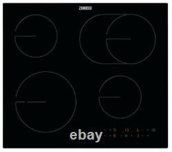 ZANUSSI OvalZone ZHRN643K Electric Ceramic Hob Black-NEW