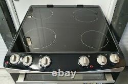 ZANUSSI ZCV66060XE 60 cm Electric Cooker with Ceramic Hob, RRP £499