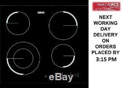 ZANUSSI ZEV6341FBA Black Electric Ceramic Hob + 1 Year Warranty (Brand New)