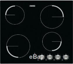 ZANUSSI ZV694NK Electric Ceramic Hob Black Currys