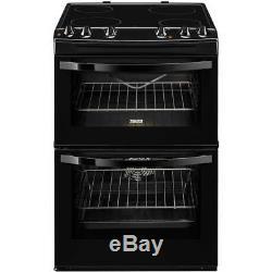 Zanussi Avanti ZCV680TCBA Electric Cooker with Ceramic Hob Black A/A Rate