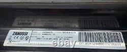 Zanussi Double Electric Oven, ceramic hob & grill (free-standing). ZCV660CTX