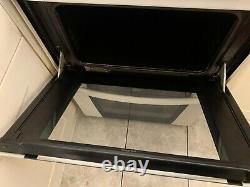 Zanussi Freestanding Halogen Hob And Double Oven ZKC6020X