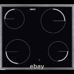 Zanussi Integrated Ceramic Hob Induction Cooker 4 Burner Black