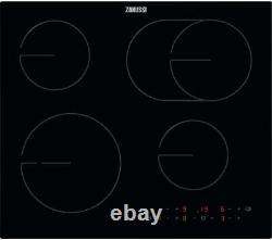 Zanussi OvalZone ZHRN643K 60cm Electric Ceramic Hob Black RB0290