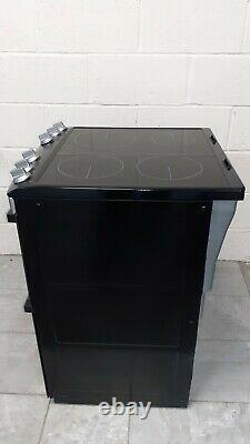Zanussi ZCI66050XA 60cm Double Oven Electric Cooker With Induction Hob