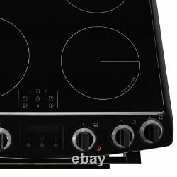 Zanussi ZCI66250WA Free Standing A/A Electric Cooker with Induction Hob 60cm