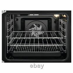Zanussi ZCV46050WA Electric Cooker with Ceramic Hob