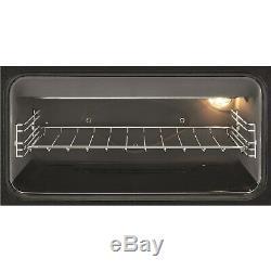 Zanussi ZCV46250BA 55cm Double Oven Electric Cooker With Ceramic Hob ZCV46250BA