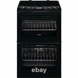 Zanussi ZCV46250BA 55cm Electric Cooker Ceramic Hob Black FA9672