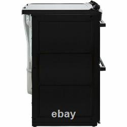 Zanussi ZCV46250WA Free Standing A/A Electric Cooker with Ceramic Hob 55cm